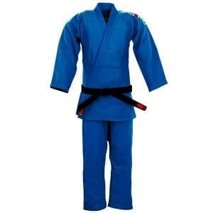 vechtsportkleding \u2013 boxbal \u2013 go for itessimo judopak ippon blauw \u2013 slim fit