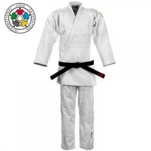 vechtsportkleding \u2013 boxbal \u2013 go for itessimo ijf gold judopak wit